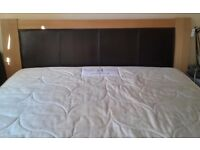 Kingsize bed & mattress for sale