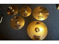 Sabian XS20 Performance Cymbal Set - Brilliant Finish