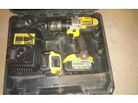 Dewalt dcd985 hammer-drill driver 18v set