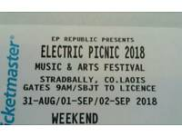 **Electric Picnic Festival/camping/Sold Out/Ireland Collection **