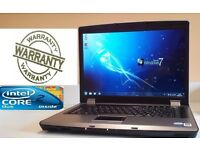 FAST Windows 7 RM WIDESCREEN Cheap Laptop 160GB HDD 2GB RAM WIRELESS