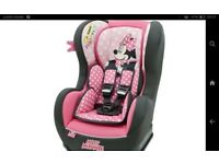 Minnie mouse car seat kiddiecare