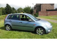 LOVELY 2005 FORD FIESTA 1.3 ZETEC 1 YEARS MOT 5 DOOR HATCH LOW MILES SERVICE HISTORY VERY ECONOMICAL