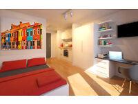 Studio flat in Hassell Street, Newcastle-under-Lyme, ST5