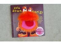 Calm down boris book books hobbies reading