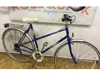 Raleigh candice retro mixte bike