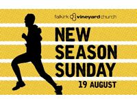 Free BBQ, inflatables, games, music - New Season Sunday