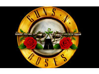 2 x Guns n Roses tickets for SOLD OUT Slane Castle on 27 May