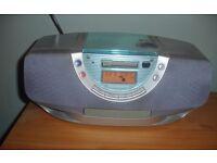 Panasonic RX-EX1 PORTABLE STEREO CD SYSTEM FM RADIO/Cassette/CD Boombox