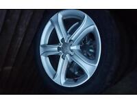 Audi a4 technik alloys 17 inch with tyres