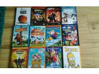 Bunch of kids DVDs