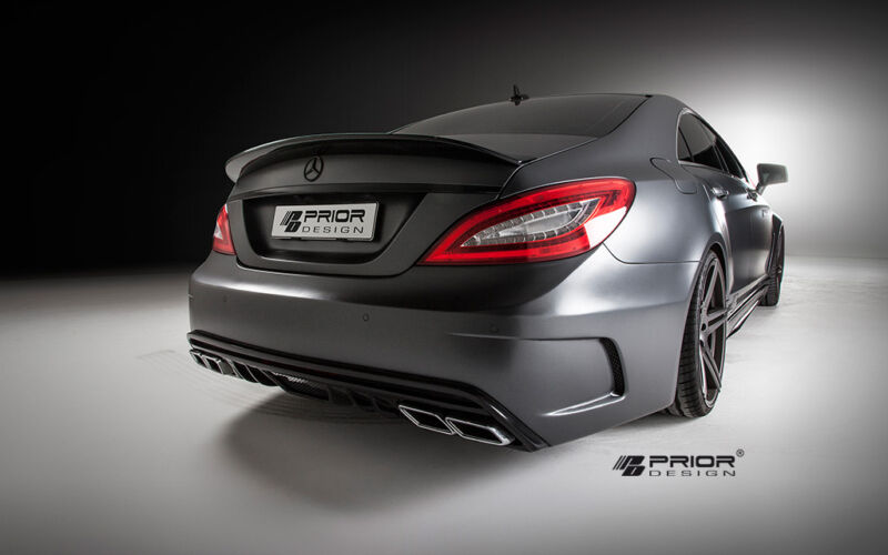 Mercedes Cls W218 Body Kit Rear Bumper W/ Diffuser Cls550 Cls63 Amg