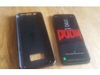 "Samsung S8 Plus 6.2"" Infinity Display 18:9 SD835, 4GB RAM Midnight Black - Unlocked smartphone"