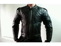 Frank Thomas motorbike leathers jacket