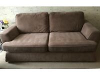 DFS 3 Seater Sofa and Cuddle Chair