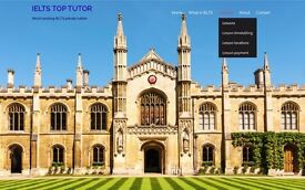 World leading Private English lessons /IELTS + University English-Online + In Person