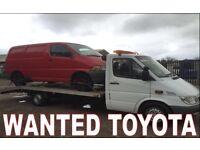 Toyota Hiace hilux jeep van wanted