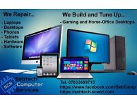 Computer Desktops, Laptops, Tablets, Phones repair, upgrade