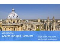 Care Assistant - Full Time Abingdon/Oxford