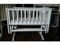 Gliding crib Mothercare