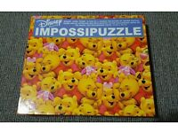 550 pcs Jigsaw Puzzle Winnie The Pooh Loves Piglet IMPOSSIPUZZLE GIFT