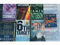 Mixed fiction books