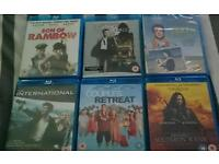 Blu Rays for sale, 50p each