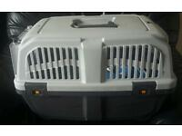 LARGE GREY CARRIER FOR CATS/PUPPYS