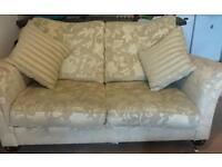Beautiful sofa and arm chair £50