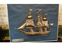 Fragata holand a 1800 boat picture frame