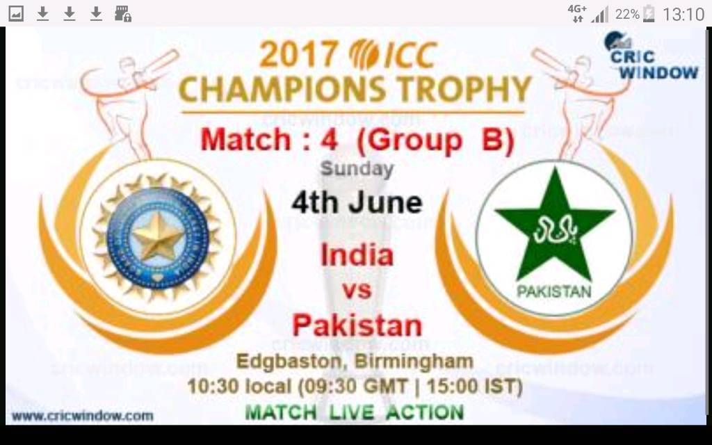 Image result for india vs pakistan live pic logo