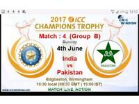 PAKISTAN V INDIA ICC CHAMPIONS TROPHY TICKETS X 2 FAMILY STAND