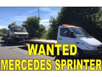 MERCEDES SPRINTER 310D - 312D - 412D - ANY CONDITION