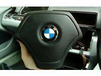 BMW e46 car steering wheel airbag