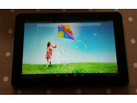 """10.1"""" android tablet, as new. Hanspree HSG1279"""