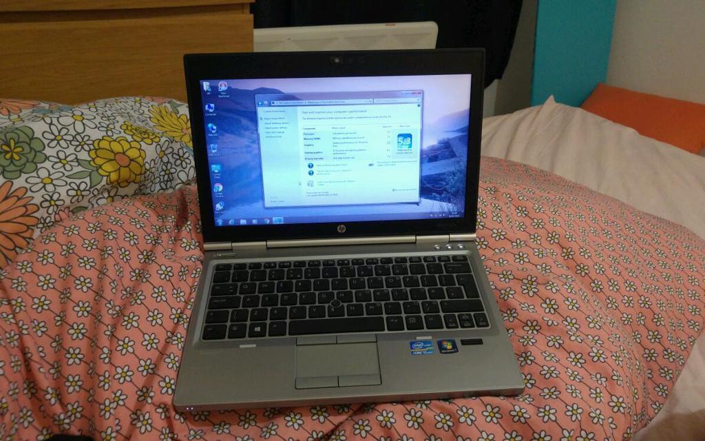 Gaming Hp Elitebook 2570p Laptop I5 2 8ghz 180gb Ssd