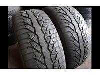 """Part worn tyres - 205/55""""16 - winter tyres Open Sunday's 41 new road rm138dr"""