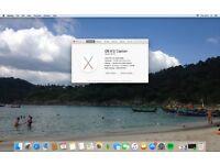 iMac (20inch), Early 2008, OS X El Capitan - Swap for Macbook