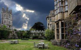 Hotel Receptionist - Thornbury Castle (full time)