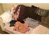 Maternity clothes bundle, size 12