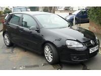 2008 VW Golf GT TDI with parrot bluetooth handsfree