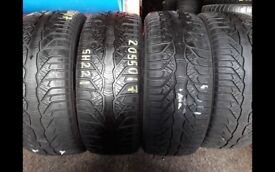 Part worn tyres 205/50/17 winter tyres in stock / 41 new road rm138dr