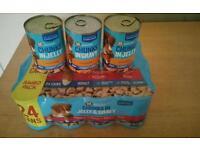 15 tins of Morrison's dog food
