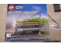 Brand New Sealed Lego City Passenger Diesel Train People Carriage ONLY Bogey 60197 wheels
