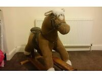 Mamas and papas rocking horse excellent condition