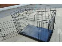 Dog cage crate as good as new