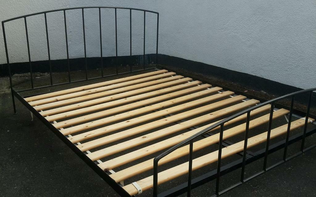 Wrought iron double bed from Habitat | in Poole, Dorset | Gumtree