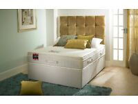BRAND NEW 1500 POCKET SPRUNG DIVAN BED SET FROM £190!!