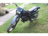 yamaha DT125LC Mk1 drum Brake model for restoration