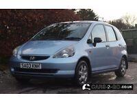 **LONG MOT** 2003 Honda Jazz 1.4 S Metallic Blue 5 Door